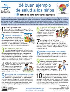 10 consejos para dar buenos ejemplos de salud a los niños
