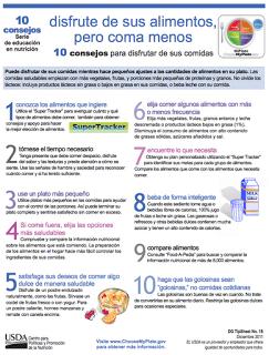 10 CONSEJOS PARA DISFRUTAR DE SUS COMIDAS
