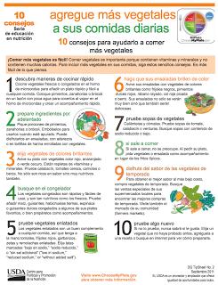 10 consejos para ayudarlo a comer más vegetales