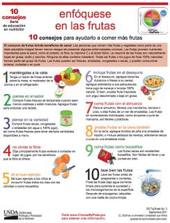 10 consejos para ayudarlo a comer más frutas