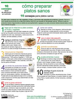 10 CONSEJOS PARA PLATOS SANOS