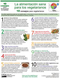 10 consejos para vegetarianos
