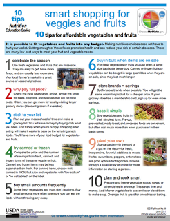 10 tips for affordable vegetables and fruits